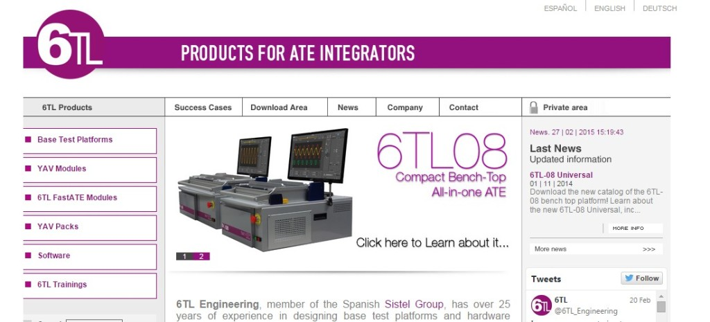 6TL Engineering supplier of products for test integrators.