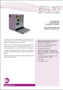 6TL-10 Base testplatform