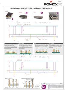Assembly information 6TL kits