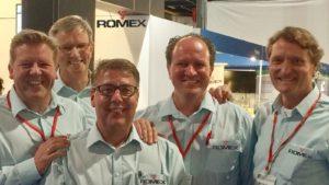 Verkoopteam Romex 2016
